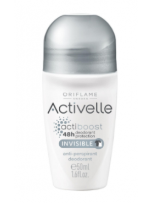 ORIFLAME ACTIVELLE Invisible Anti-perspirant Deodorant 50 ML