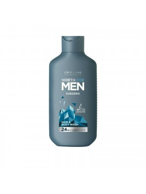 ORIFLAME MEN'S BODY & HAIR Subzero Hair & Body Wash 250 ML