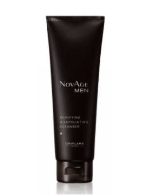 ORIFLAME NOVAGE Men Purifying & Exfoliating Cleanser 125 ML