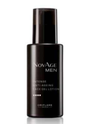 ORIFLAME NOVAGE Men Intense Anti-Ageing Face Gel Lotion 50 ML