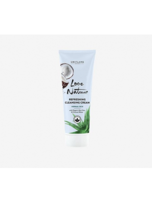 ORIFLAME CLEANSE Refreshing Cleansing Cream with Organic Aloe Vera & Coconut Water 125 ML