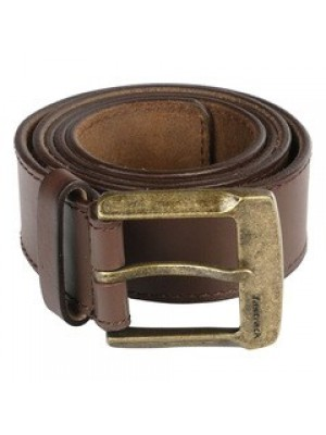Fastrack Brown Leather Belt For Men-B0369LBR01X