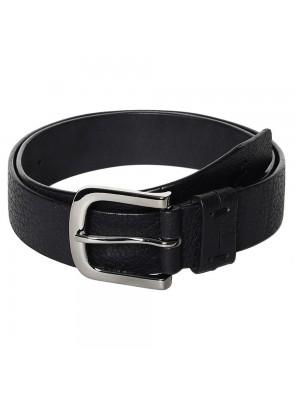 Fastrack Black Single-Sided Leather Belt