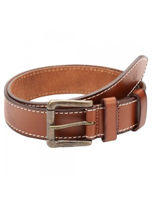 Titan Tan Single Sided Belt with Pin Buckle for Men