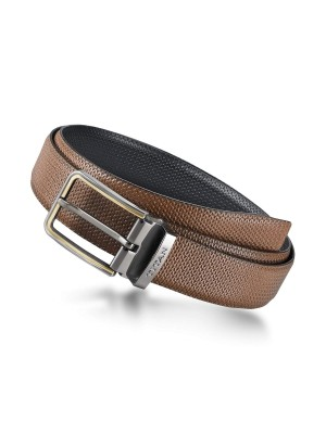 Titan Bicolour Single Sided Genuine Leather Belt for Men-TB199LM4R2X