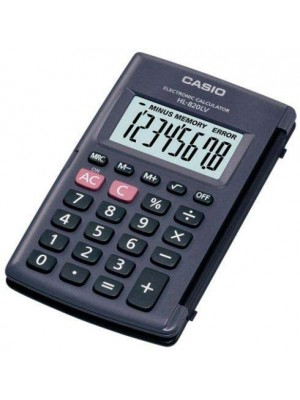 Casio Hl-820lv-bk-w Portable Type Calculator with 8-Digit Large display