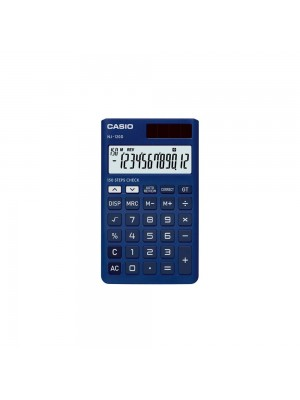 Casio NJ-120D-BU 150 Steps Check & Correct Portable Colourful Calculator (Blue)