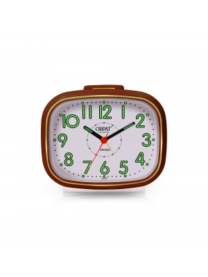 ORPAT TBZL - 667 Alarm Clock Time Piece with Vintage Look