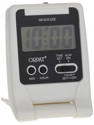 ORPAT Time Piece  Alarm Clock  Digital Alarm – (TBZLL-627 DX)