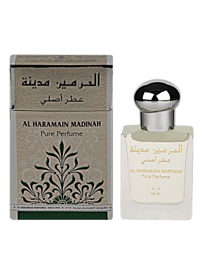 Al Haramain Madinah Concentrated Pure Perfume Roll-on (Attar,15Ml)