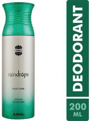 Ajmal Raindrops Perfume Deodorant 200ml for Women