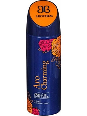AROCHEM ARO CHARMING  DYNAMIC DEODORANT BODY SPRAY- For Men & Women  (200 ml)