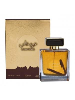 Nusuk Oud Khas, Natural Spray, Eau-De-Perfume 100ml (3.4 FL. Oz), Unisex Premium Quality Perfume, Imported Fragrance Designed in Dubai (UAE)