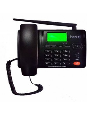 Beetel F1N Wireless GSM Fixed landline Phone black )