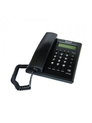 Beetel M53 CLI Corded Phone (Black)