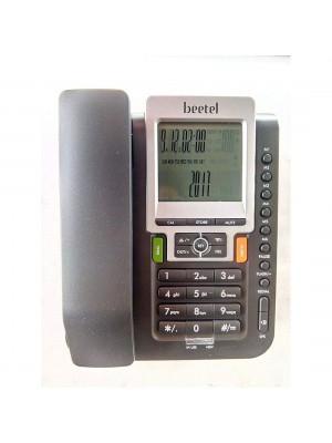 Beetel M71 Black Corded Landline Phone