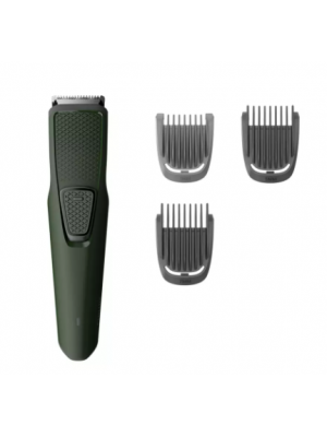 Philips Men Series 1000 USB charging cordless rechargeable Beard Trimmer BT1212/15 Green