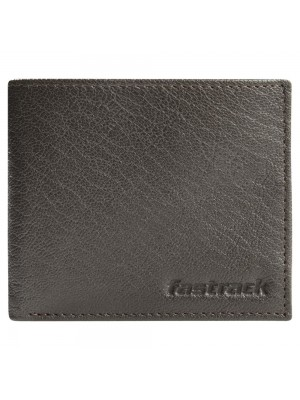 Fastrack Brown Leather Bifold Wallet for Boys-C0370LBR01
