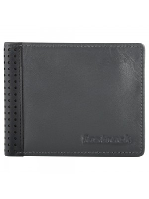 Fastrack Grey Leather Bifold Wallet for Guys-C0390LGY01