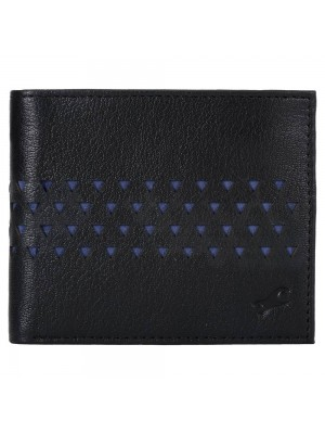 FASTRACK BLUE LEATHER BIFOLD WALLET for Guys-C0403LBL02