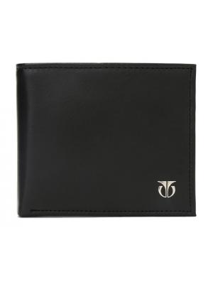 Titan  Black Leather Bifold Wallet for Men-TW112LM1BK