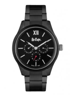 Lee Cooper Black Dial Multifunction Watch for Men- LC06752650