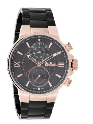 Lee Cooper Black Dial Multifunction Watch for Men-LC06842450