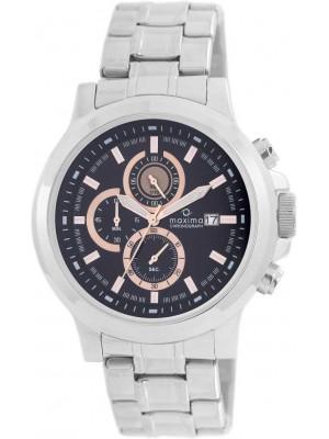Maxima Attivo Chronograph Black Dial MEN -27716CMGI