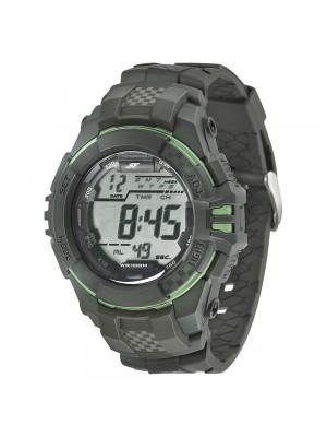 Sonata Digital Chronograph SF Carbon Series Green Dial Men's Watch