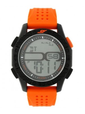 SONATA Carbon Series Watch with Grey Dial 77057PP04J