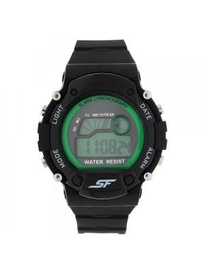 Sonata Fibre (SF) Digital Green Dial Men's Watch-NL7982PP05